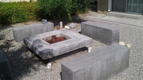 how to make concrete pit diy outdoor propane pit cheap fireits lowes at