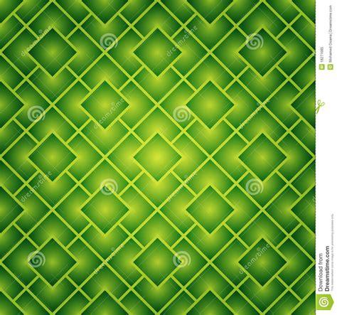Motif Flower Hijau green squares seamless pattern royalty free stock photo