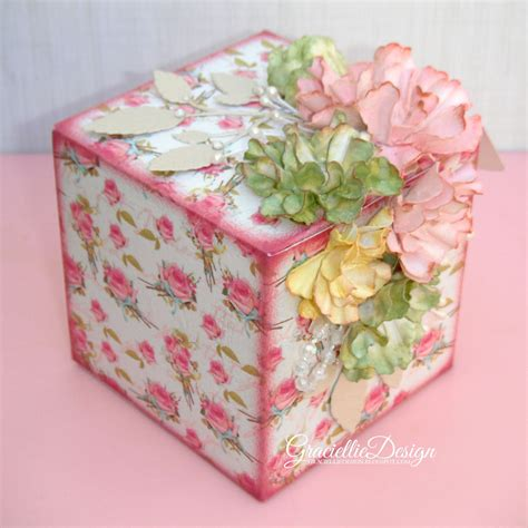 Handmade Tea - handmade tea box flowers gift idea for s day
