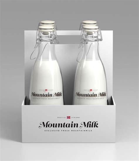 packaging design of milk milk package design concept by anders drage