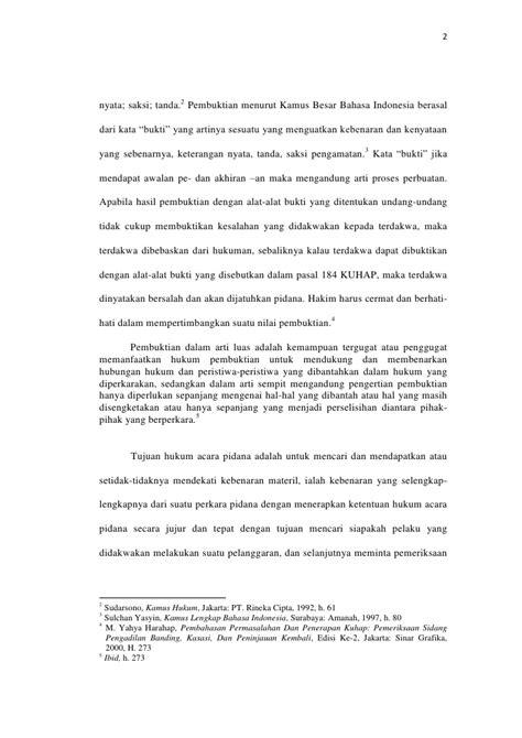 Arbitrase Edisi Kedua By Myahya Harahap skripsi indra prasta fix