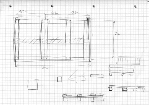 wandpaneel bett selber bauen bauanleitung 300 cm breites familienbett selbstgebaut