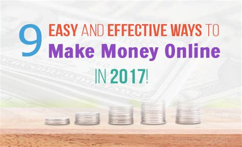 Make Money Easy And Fast Online - top 9 easy ways on how to make money online fast