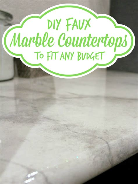 how to clean marble countertops diy remodelaholic 30 diy faux marble countertops