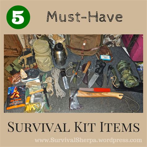 top 5 list of must have items for your home office 5 must have survival kit items that won t require a mule