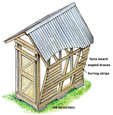 How To Build A Corn Crib by Plans To Build How To Build A Corn Crib Pdf Plans