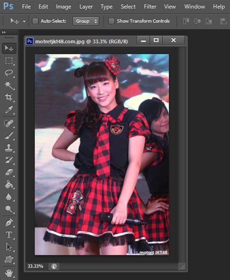 tutorial edit foto menggunakan photoshop cs6 cara mudah membuat efek foto robek menggunakan photoshop
