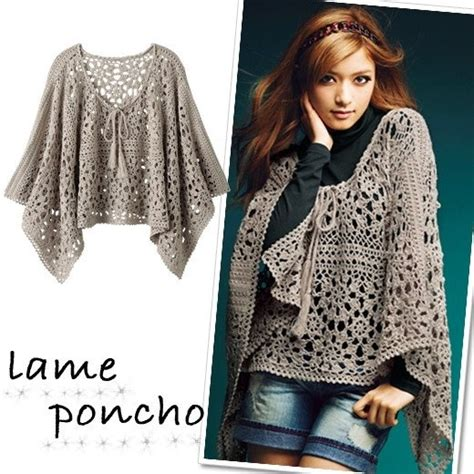 crochet poncho pattern free pinterest poncho crochet items with no patterns pinterest