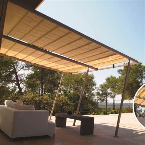 terrasse 4x4 tonnelle adoss 233 e aluminium acier 4x4 m toile coulissante