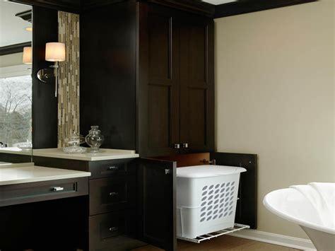 Bathroom bench hamper, bathroom hampers tilt out bathroom
