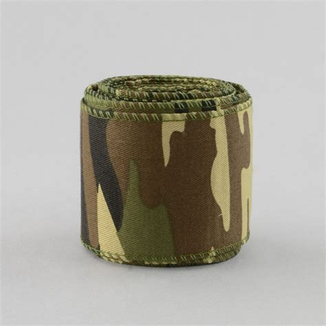 camouflage ribbon 2 5 quot camouflage fabric ribbon b35 6281 craftoutlet