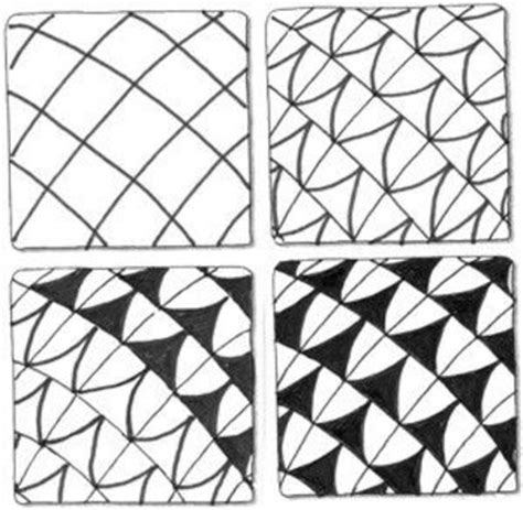 pattern drawing for beginners zentangle step by step instructions doodle doodling