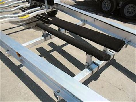 boat lift keel support new sea tech custom aluminum boat trailers for sale 866