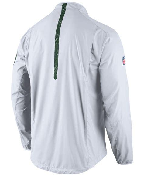 Sweter Jaket Ziper Nike lyst nike s new york jets lockdown half zip jacket