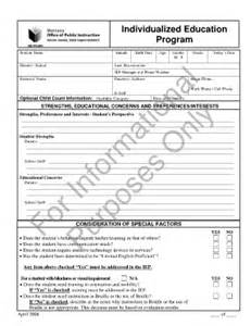 blank iep template best photos of printable iep form blank iep form