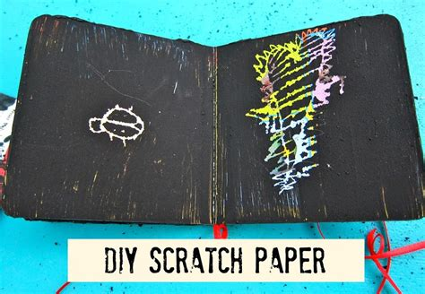How To Make Scratch Paper - diy scratch paper from recycled books morena s corner