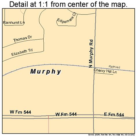 murphy texas map murphy texas map 4850100