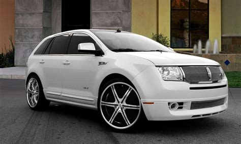 security system 2009 lincoln mkx auto manual lexani wheels the leader in custom luxury wheels white lincoln mkx with chrome and black lx 6