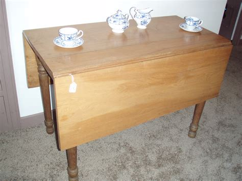 Antique Tables For Sale by Antique Light Oak Drop Leaf Farm Table For Sale Antiques Classifieds