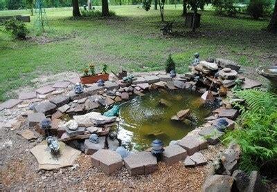 building  garden pond thriftyfun