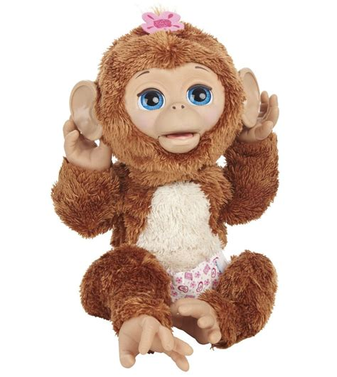 furreal friends furreal friends cuddles my giggly monkey pet review rating pcmag