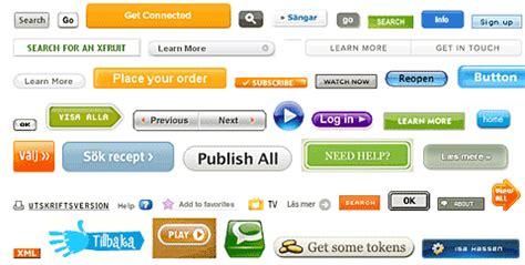 imagenes de botones web gratis colecci 243 n de botones web de todos los tama 241 os y formas