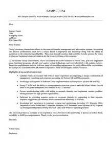 Plant Accountant Cover Letter by Senior Accounting Professional Cover Letter
