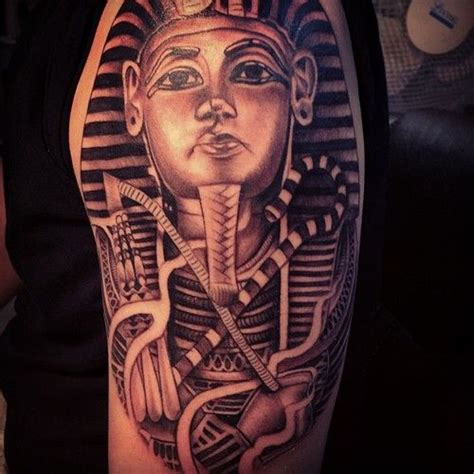 king tut tattoo egyptian tattoo and tutankhamun on pinterest