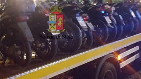 ufficio contravvenzioni napoli blitz contro scooter selvaggio nel rione sanit 224 elevate