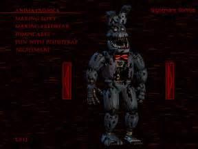 Nightmare bonnie fnaf 4 minecraft skin