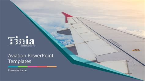 aviation powerpoint templates aviation premium powerpoint template slidestore