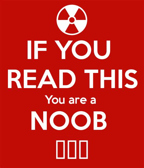 Are You A Keeper by If You Read This You Are A Noob Poster Andrei Keep