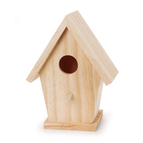 easy bird house decorative bird house simple unfinished wood bird house