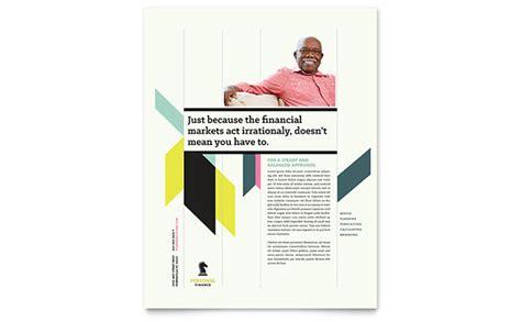 personal brochure templates personal finance flyer template design