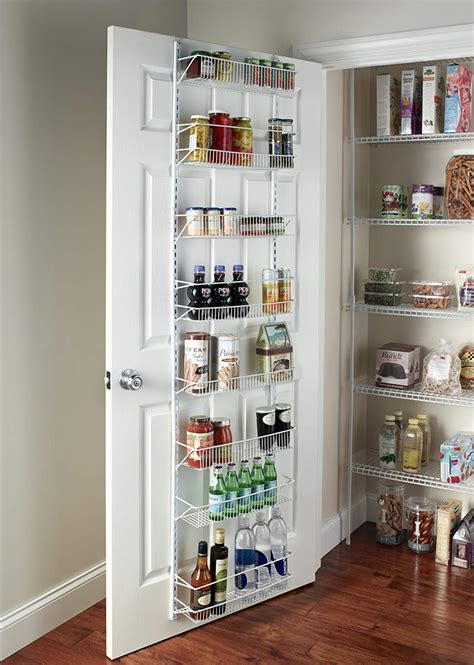 closet door organizers wall rack closet organizer pantry adjustable floating shelves wine spice storage ebay