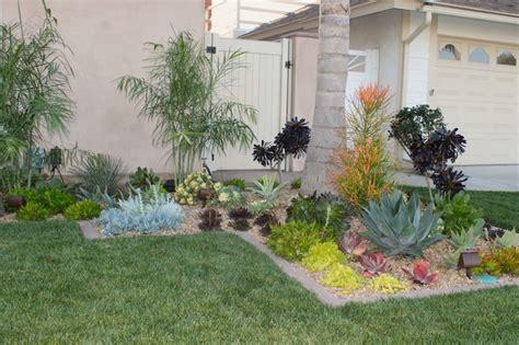 front yard succulents - Succulent Front Yard Design