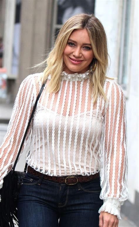How Would You Wear It Hilary Duff Fabsugar Want Need by Hilary Duff Filming Younger In New York Celebzz Celebzz