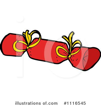 christmas cracker clip art black and white crackers clipart