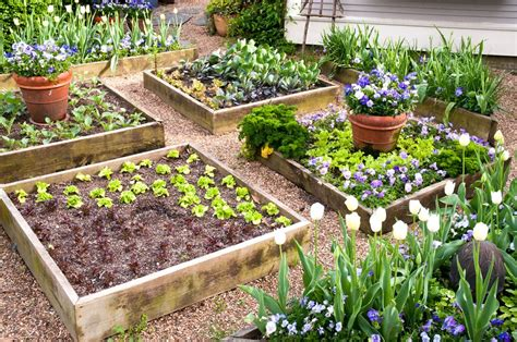 Raised Herb Garden Ideas Herb Garden Designs For Raised Beds The Garden Inspirations