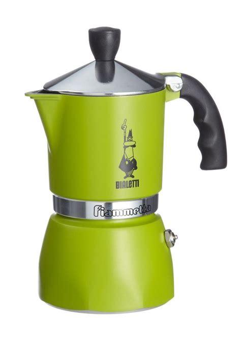 Bialetti Rainbow Green 1 Cup bialetti fiammetta colours 3 cup coffee maker green kitchen ideas coffee
