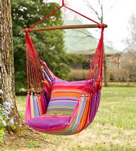 Hammock Swing Chair Pink Striped Cotton Hammock Chair Swing Swings Hammocks