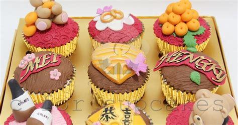 nan kayu motif cup cake birthday cakes singapore wedding children longevity