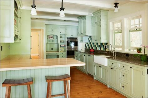 Mint Green Kitchen Cabinets by Mint Green Kitchen Cabinets Kitchens