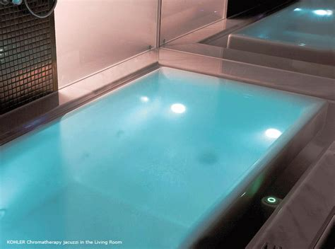 chromatherapy bathtub chromatherapy jacuzzi in the living room best home news