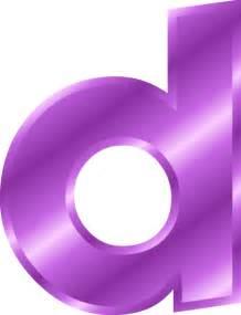 Alphabet letter d small clip letter d clipart purple 600 783 png