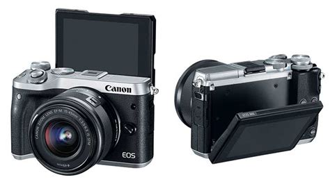 Kamera Canon Eos M6 canon resmi perkenalkan kamera mirrorless eos m6