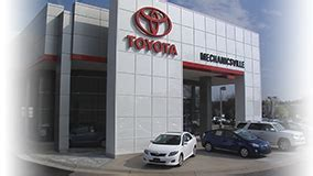 Mechanicsville Toyota Service Mechanicsville Toyota Dealership In Mechanicsville