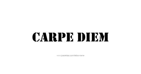 carpe diem design minimalist design quot carpe diem quot phrase designs page 2 of 5 tattoos