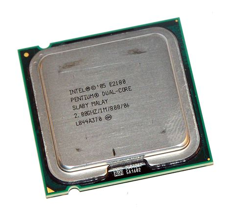 Processor Intel Dualcore 20 Ghz E2180 1m800 intel hh80557pg0411m pentium 2 e2180 2 0ghz socket t