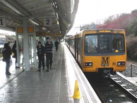 by metro newcastle airport file metro station newcastle airport geograph org uk